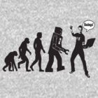 "Bazinga ! Evolution ""Big Bang Theory""  by BUB THE ZOMBIE"