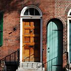Doors- Camac St.Phila PA by DAVID  SWIFT