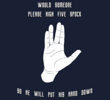 High Five Spock by HighDesign