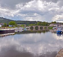 The River Barrow at Graiguenamanagh by Martina Fagan