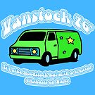 Van Stock in Blue with White Text by HighDesign