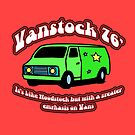 Van Stock 76&#x27; in Red with Black by HighDesign