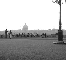 Rome - from Villa Borghese by lucymci5