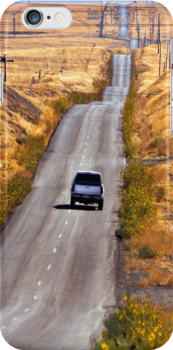 Lonely Country Road - iPhone Case by Buckwhite