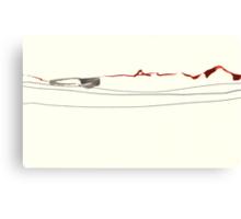 Land Line - 2 Canvas Print