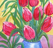Tulips by Angela ILIADIS
