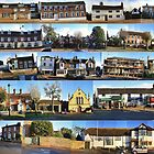 Lindfield High Street - East Side Panorama by Matthew Floyd