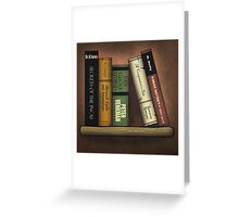 Recommended Reading Greeting Card
