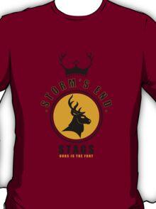House Baratheon Sports Badge T-Shirt