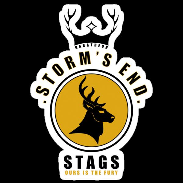 House Baratheon Sports Badge by liquidsouldes