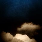 Clouds in a scratched darkness - iPhone case by Silvia Ganora