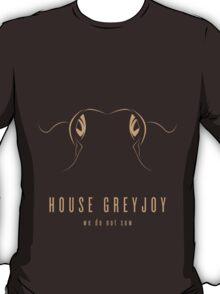 House Greyjoy Minimalist T-Shirt T-Shirt