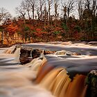 River Swale In Flood by Mat Robinson