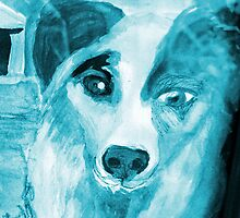 Ghost Dog by Diane  Kramer