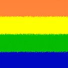 Rainbow Flag by brattigrl