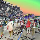 Bullcock Street Markets by Peter Jennings