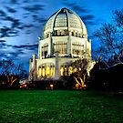 Baha'i Temple, Night by James Watkins