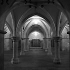 Rochester Cathedral Crypt by tunna