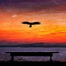 Dawn flight.  by DaveBassett
