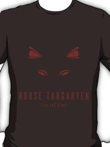 House Targaryen Minimalist T-Shirt T-Shirt