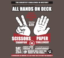ROCK PAPER SCISSORS by Teevolution