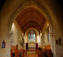St John The Baptist, Wateringbury - Chancel by Dave Godden