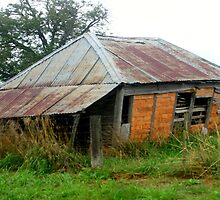 Dilapidated  farm House by Chris Chalk