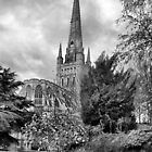Norwich Cathedral by Darren Burroughs