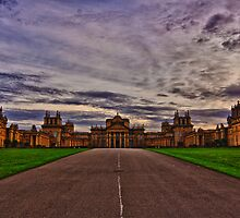 Sunset at Blenheim Palace by Asif Patel