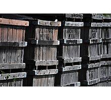 Orange Crates Photographic Print