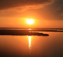 Caribbean Sunset by Milena Ilieva