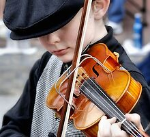 Young Violinist by SuddenJim