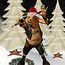 Christmas Pork ?? .. fun fantasy by LoneAngel