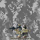 Modern Military digital camo 2 by Shobrick