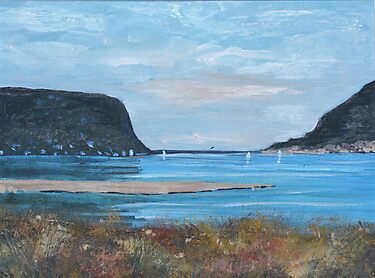 Knysna Heads by Riana222