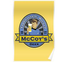 McCoy's Beer Poster