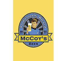 McCoy's Beer Photographic Print