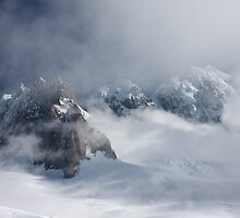 Mt Tasman and Fox Glacier New Zealand by Christian Wilson