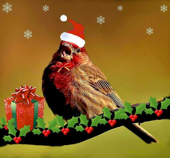 HAVE A HOLLY...JOLLY...MERRY  CHRISTMAS...~ by RoseMarie747