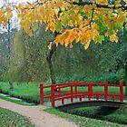Red Bridge, Bournemouth Gardens by RedHillDigital