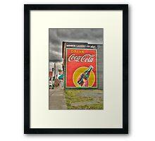 Drink Coca-Cola Framed Print
