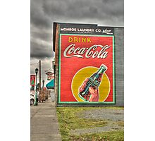 Drink Coca-Cola Photographic Print