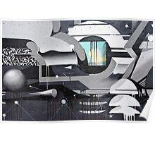 Geometrical Graffiti Poster