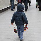 Child with Gloves by Englund