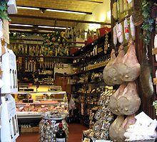 Delicatessan In San Gimiginano by Fara