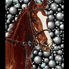 Horse &amp; Bubbles iPhone Cases by Patricia Barmatz