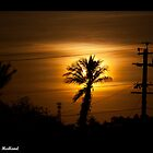 Sunset Over South Hedland by stevebrooks