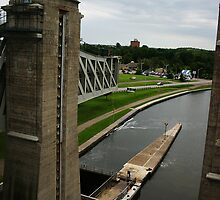 Peterborough Lift Lock by Alyce Taylor