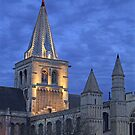 Rochester Cathedral  (HDR) by larry flewers