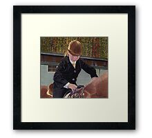 Remember When... Horse and Child Painting Framed Print